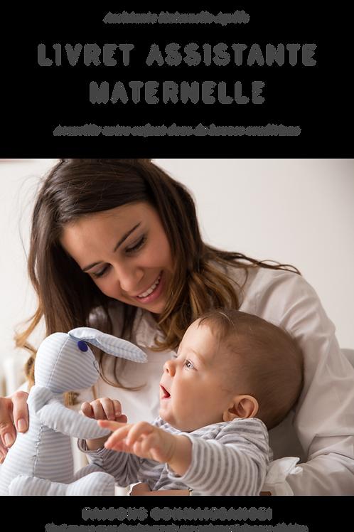 Livret d'Accueil Assistante Maternelle