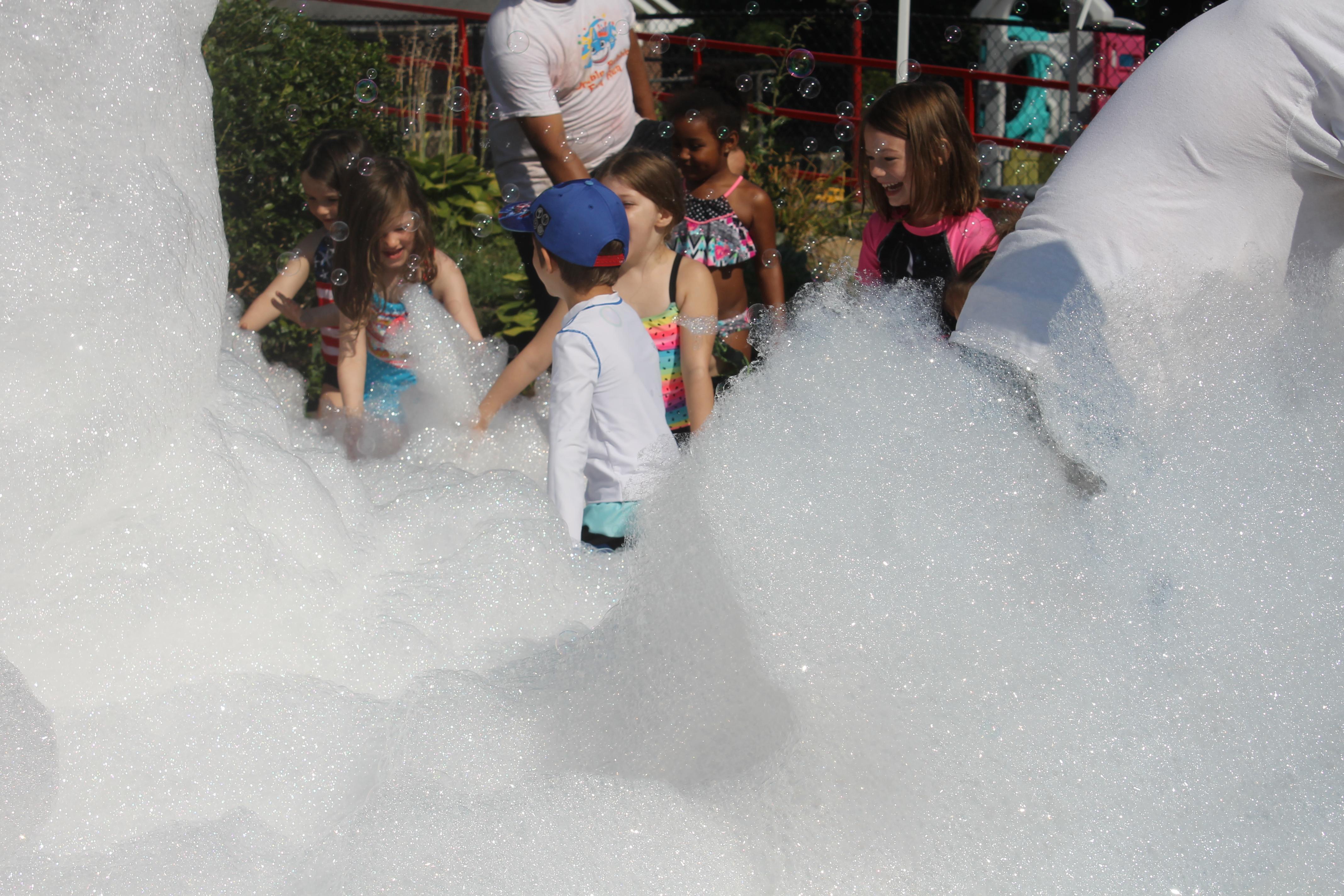 2019 Summer Camp Foam Party
