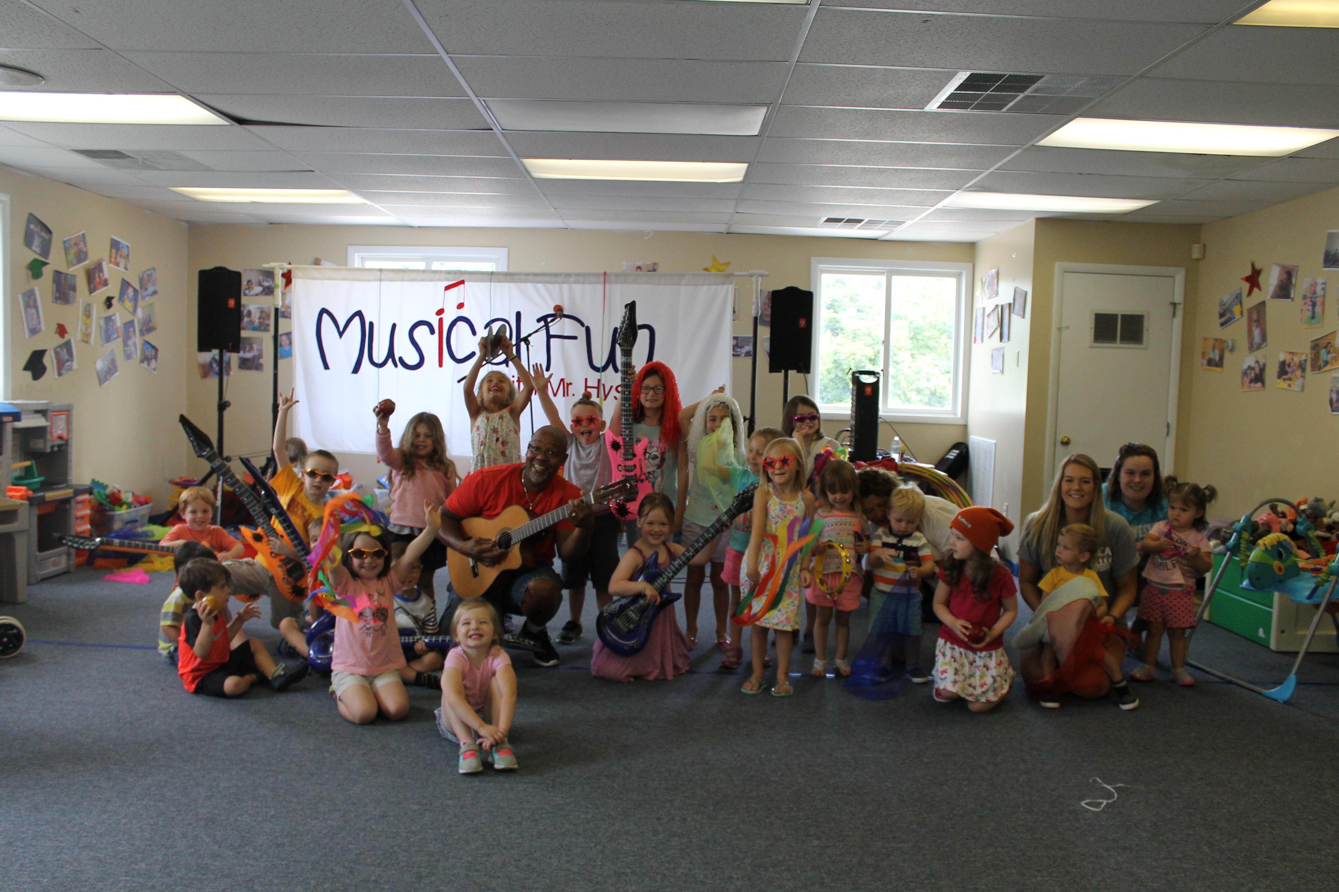 Musical Fun at summer camp!