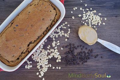 Peanut Butter Oat Flour Bread