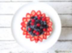Raw Berry Cheesecake