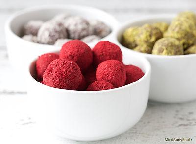 Raspberry Chocolate Truffles