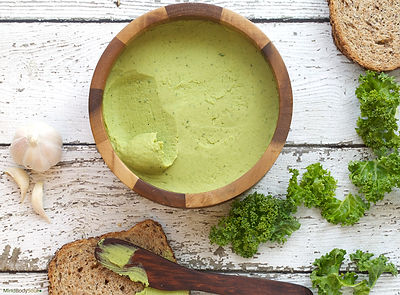 White Bean and Kale Dip