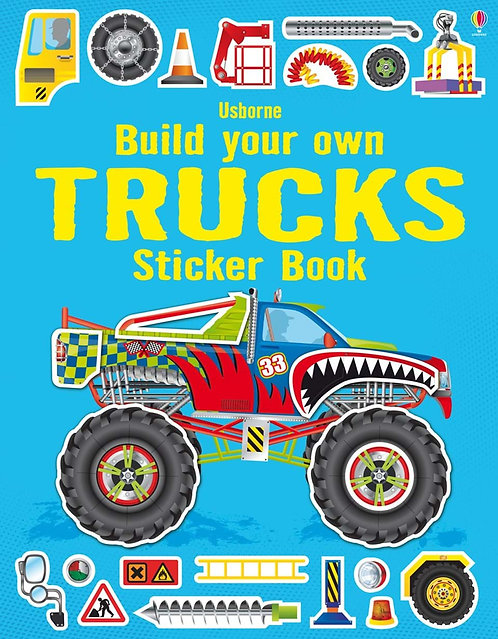 Build Your Own Trucks Sticker Book (9781409564430)