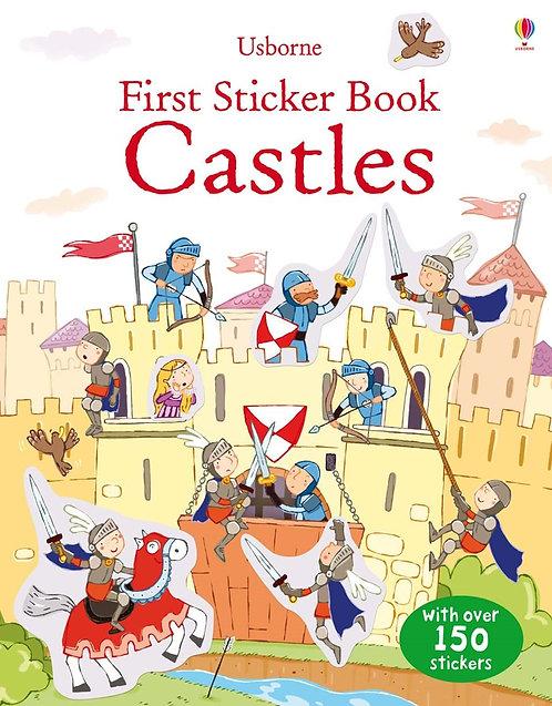 Castles First Sticker Book (9781409534860)