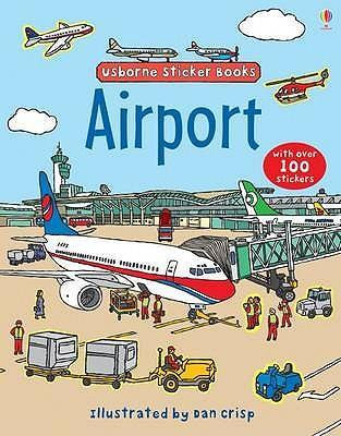Airport Sticker Book (9781409507369)