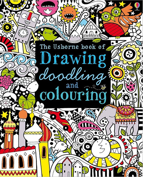 The Usborne Book of Drawing, Doodling and Colouring (9781409507857)