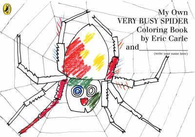 My Own Very Busy Spider Colouring Book (9780141500690)