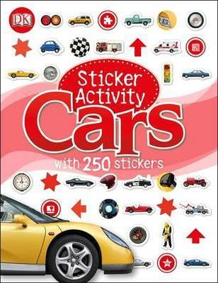 Cars Sticker Activity Book (9781409374428)