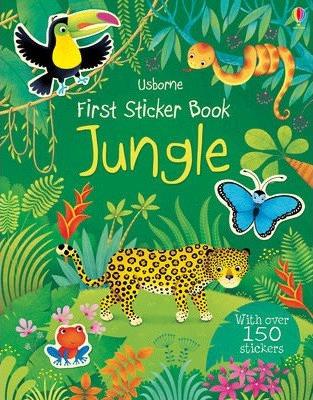 Jungle First Sticker Book (9781409582380)