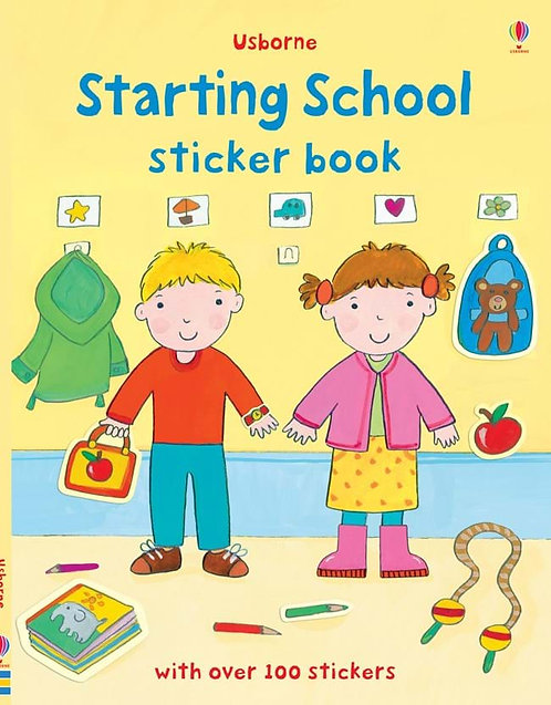 Starting School Sticker Book (9781409534938)