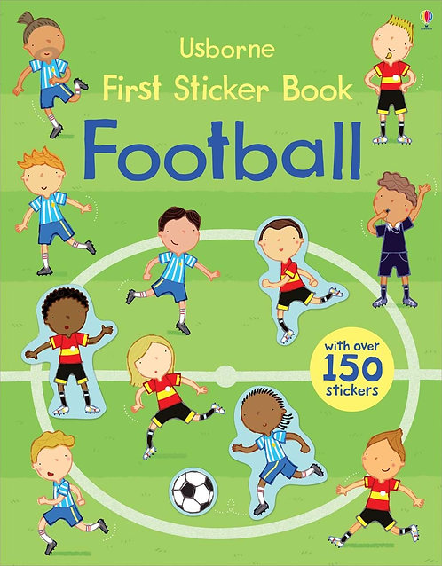 Football First Sticker Book (9781409564645)