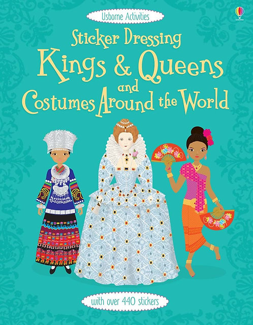 Kings & Queens and Costumes Sticker Dolly Dressing (9781409566496)