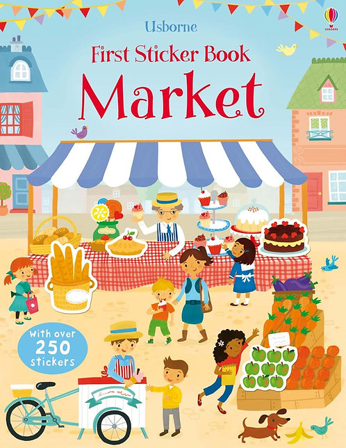 Market First Sticker Book (9781409564638)