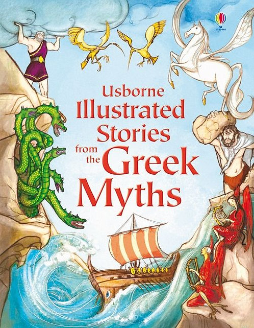 Illustrated Stories of Greek Myths (9781409531678)