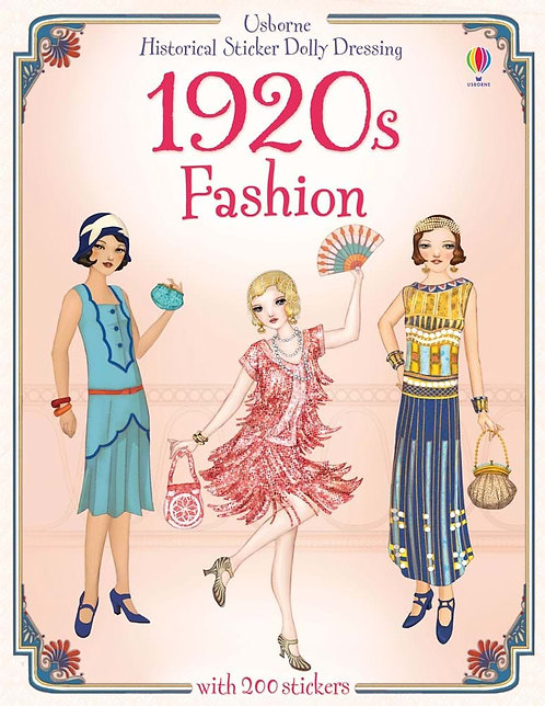 1920s Fashion Historical Sticker Dolly Dressing (9781409537236)