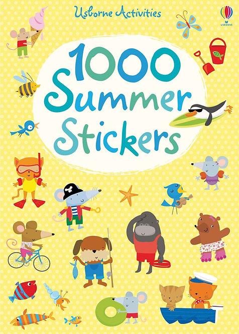 1000 Summer Stickers (9781409524755)