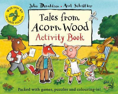 Tales from Acorn Wood Activity Book (9780330534246)