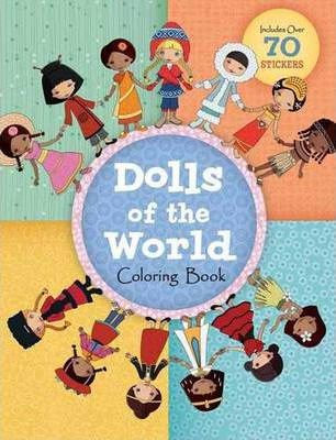Dolls of the World Coloring Book (9781609052645)