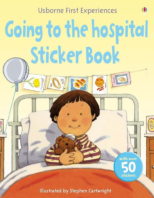 Going to Hospital Sticker Book (9780746099124)