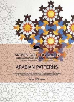Arabian Patterns: Artists' Colouring Book (9789460098024)
