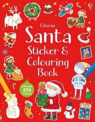 Santa Sticker and Colouring Book (9781409582359)