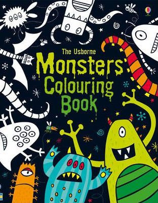 Monsters Colouring Book (9781409532347)