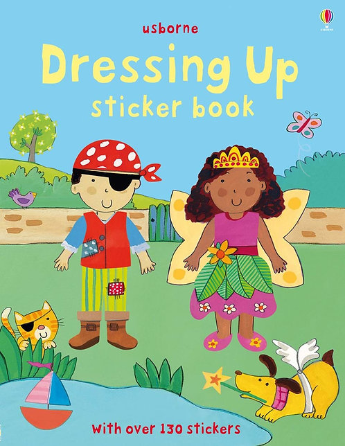 Dressing Up Sticker Book (9781409522997)
