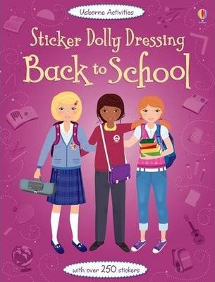Back to School Sticker Dolly Dressing (9781409547037)