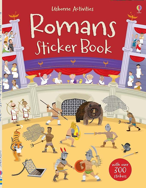 Romans Sticker Book (9781409530725)