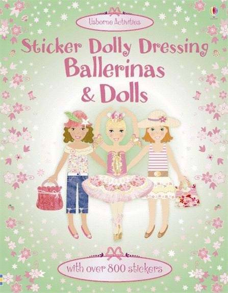 Ballerinas and Dolls Sticker Dolly Dressing (9780746098271)