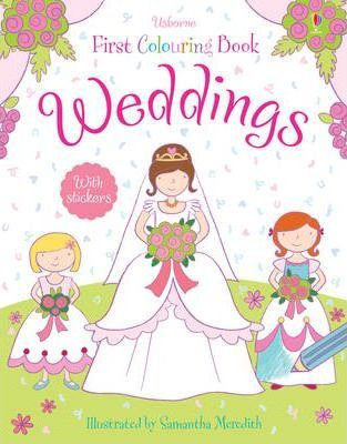 Weddings First Colouring Book (9781409565185)