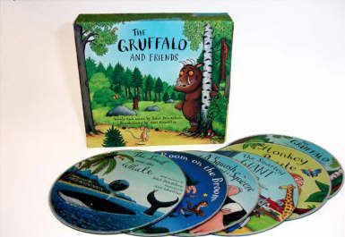 The Gruffalo and Friends (CD-Audio) (9781405054119)