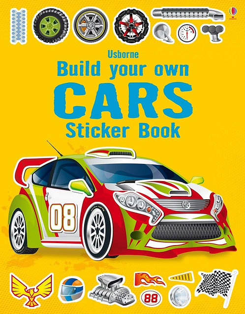 Build Your Own Cars Sticker Book (9781409555384)