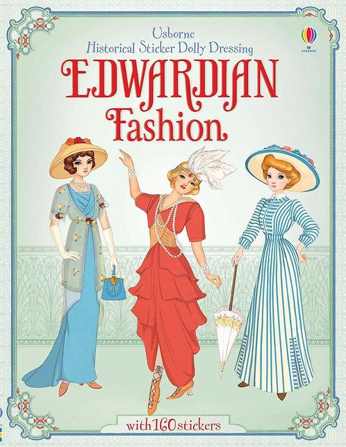 Edwardian Fashion Historical Sticker Dolly Dressing (9781409557456)