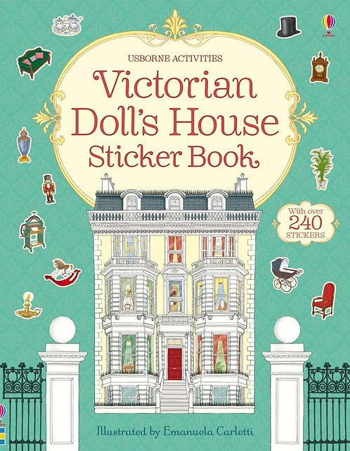 Victorian Doll's House Sticker Book (9781409562139)