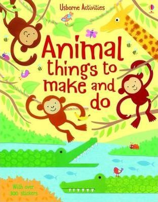 Animal Things to Make and Do (9780746097748)