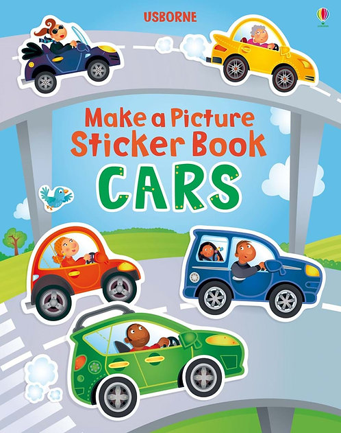 Cars: Make a Picture Sticker Book (9781409551867)