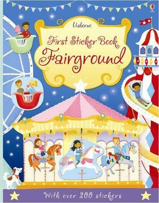 Fairground First Sticker Book (9781409564621)