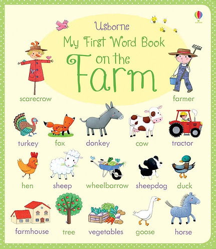 My First Word Book: On the Farm (9781409582465)