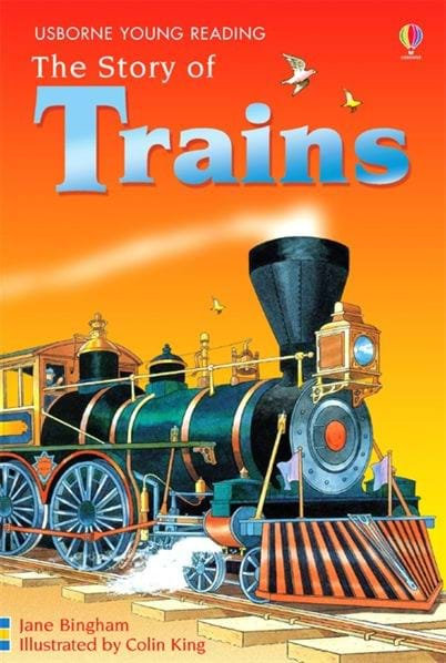 The Story of Trains (9780746080795)