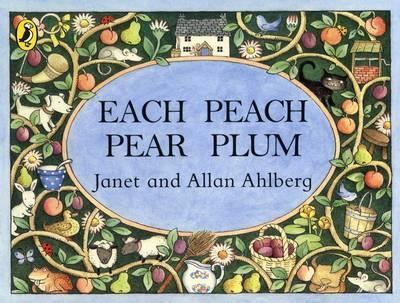 Each Peach Pear Plum (9780140509199)