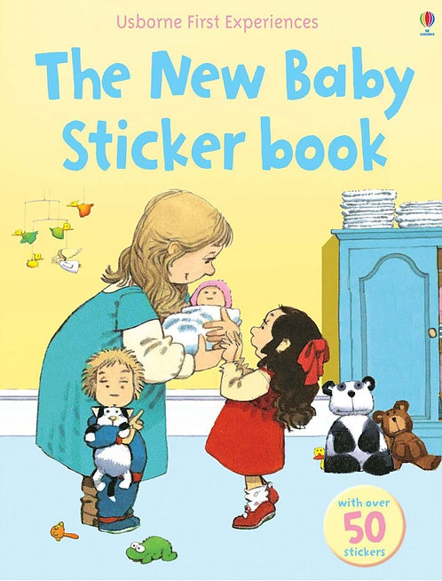 The New Baby Sticker Book (9780746093580)