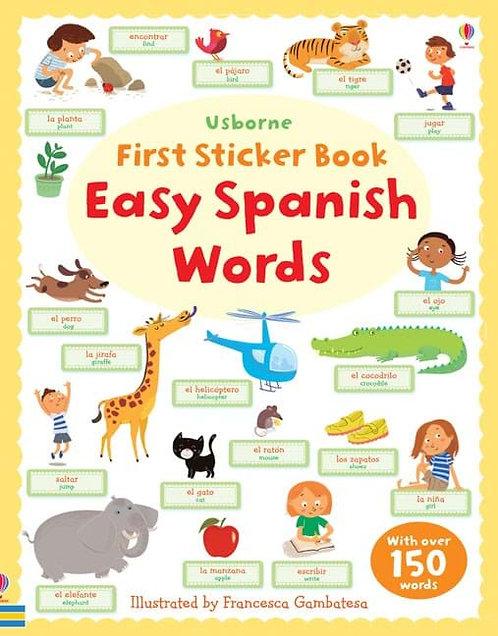 Easy Spanish First Sticker Book (9781409554585)