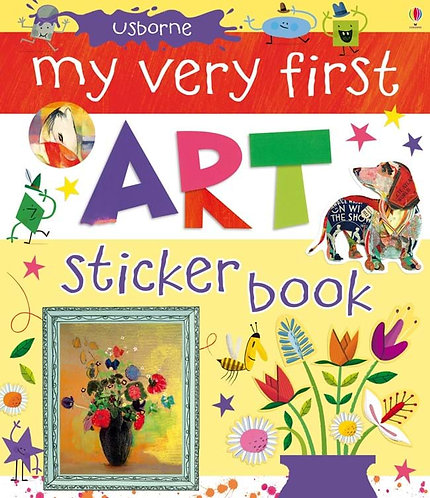 My Very First Art Sticker Book (9781409532705)