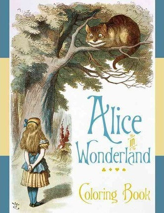 Alice in Wonderland Coloring Book (9780764967597)