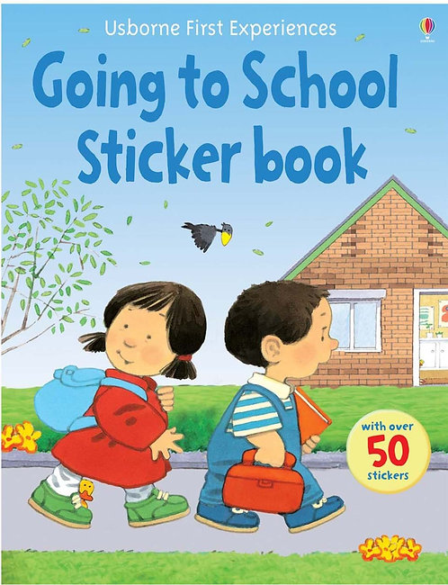 Going to School Sticker Book (9780746093597)