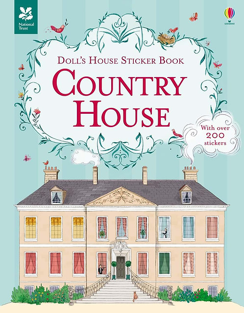 Country House Doll's House Sticker Book (9781409582281)