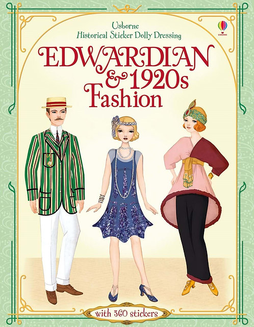 Edwardian & 1920s Fashion Historical Sticker Dolly Dressing (9781409566526)