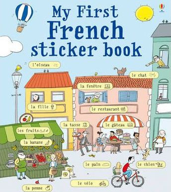 My First French Sticker Book (9781409523185)